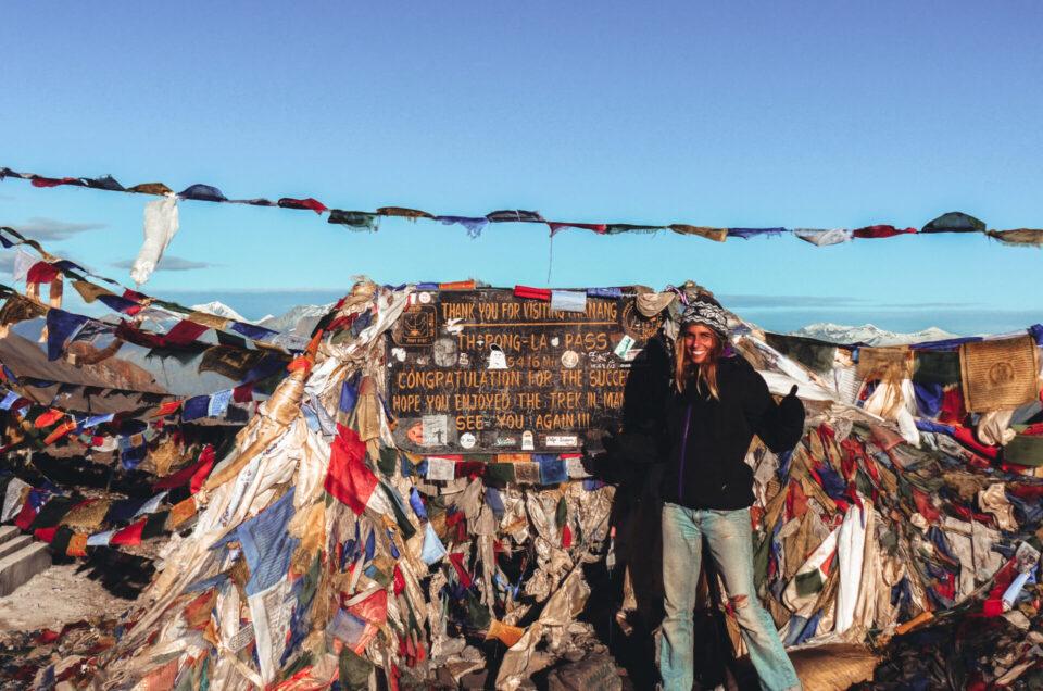 J'ai fait un sommet à 5 416 mètres dans l'Annapurna sans guide